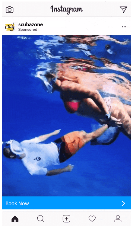 Diving School Promotion